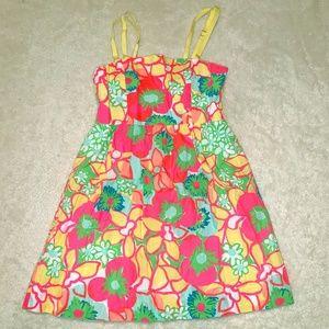 Lilly Pulitzer Floral Print Kids Dress